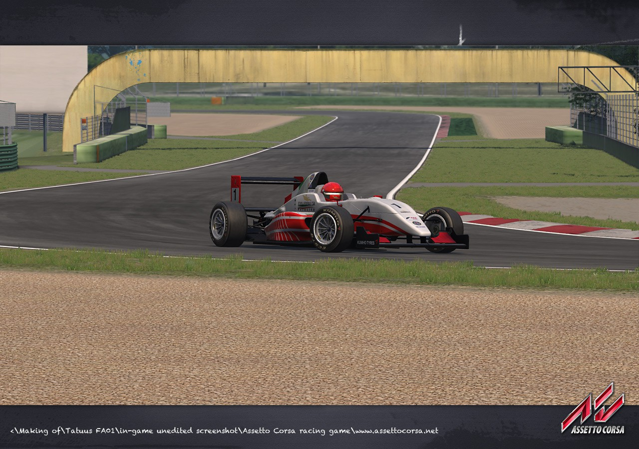 Tatuus FA01 official license for Assetto Corsa