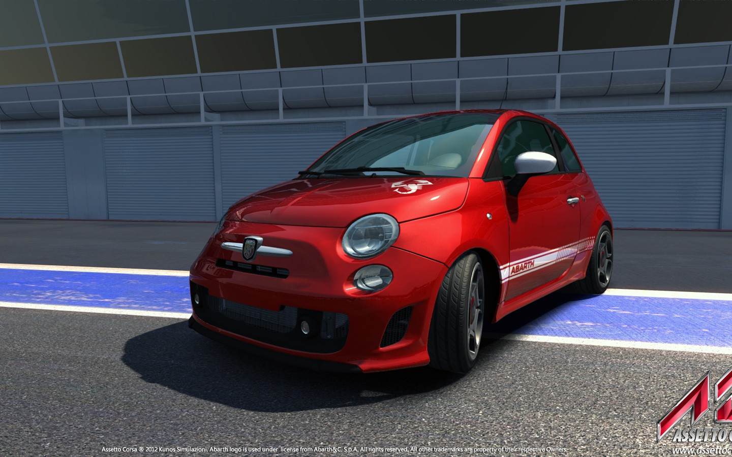 Gallery Abarth 500 SS at Monza