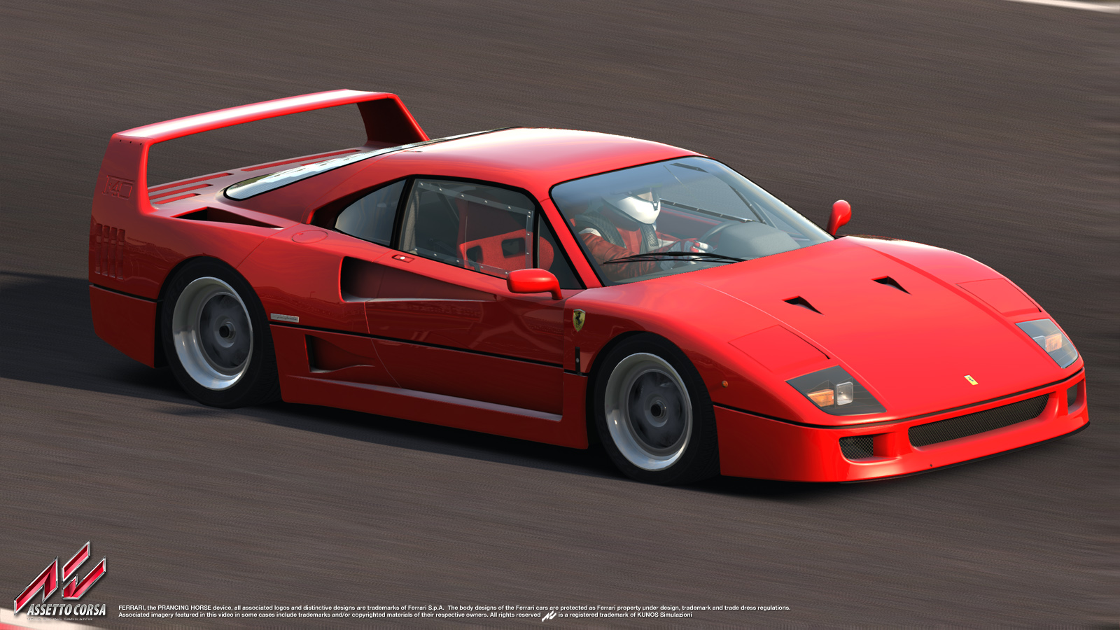 Ferrari F40 Official License Assetto Corsa