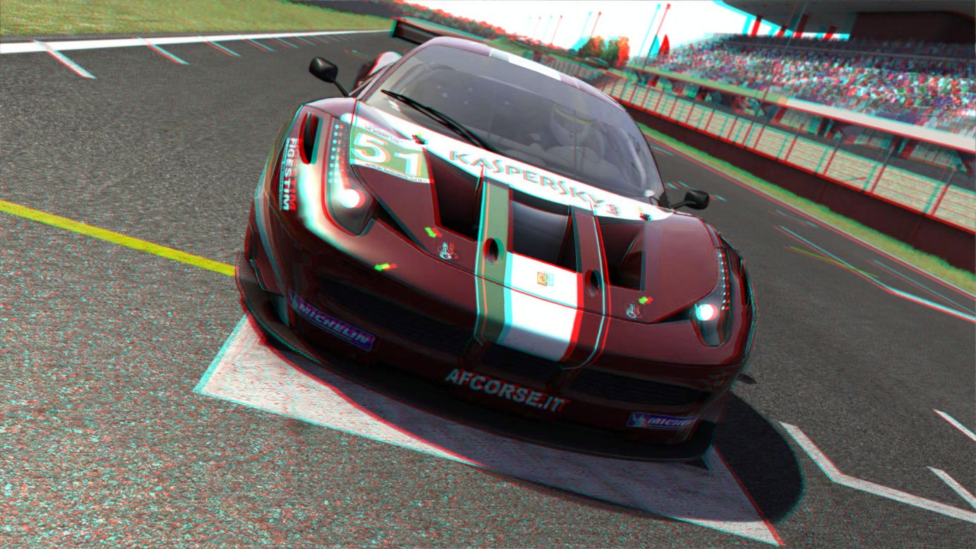 Assetto Corsa is NVIDIA 3D Vision approved!